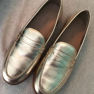 J Crew Nora Penny Loafers